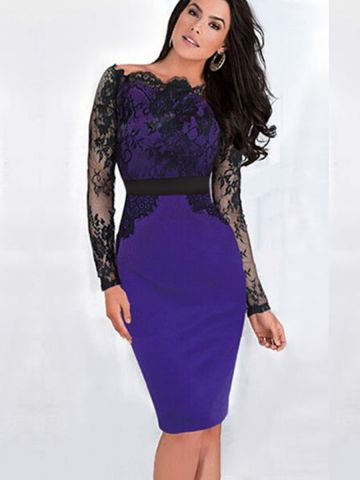 7ff474aae1b0 ... Long Sleeve Midi Dress.  https   static3.cilory.com 102039-thickbox default purple-