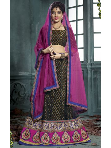 https://static2.cilory.com/105052-thickbox_default/designer-black-pink-party-wear-semi-stitched-lehenga.jpg