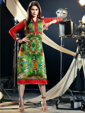 https://static6.cilory.com/105854-thickbox_default/parker-red-green-printed-georgette-kurti.jpg