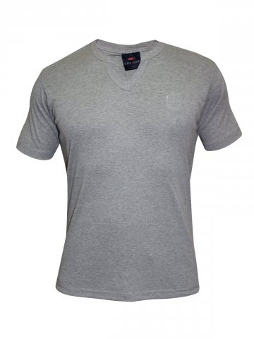 Cloak & Decker Grey V Neck T shirt at cilory