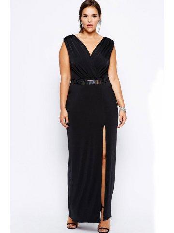 https://static8.cilory.com/117040-thickbox_default/plus-black-maxi-dress-with-metal-bar.jpg