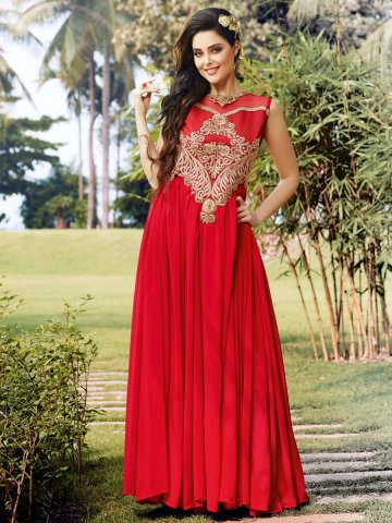 https://static2.cilory.com/121338-thickbox_default/stylus-red-party-wear-semi-stitched-long-gown.jpg