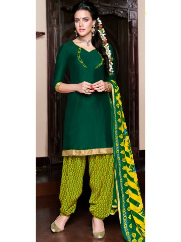 https://d38jde2cfwaolo.cloudfront.net/129485-thickbox_default/unstiched-green-yellow-green-designer-cotton-print-patiala-suits.jpg