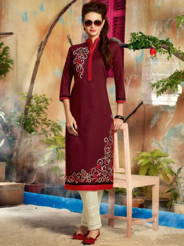 https://d38jde2cfwaolo.cloudfront.net/144376-thickbox_default/designer-coffee-cotton-readymade-kurti.jpg