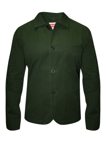 Levis Green Trucker Jacket at cilory