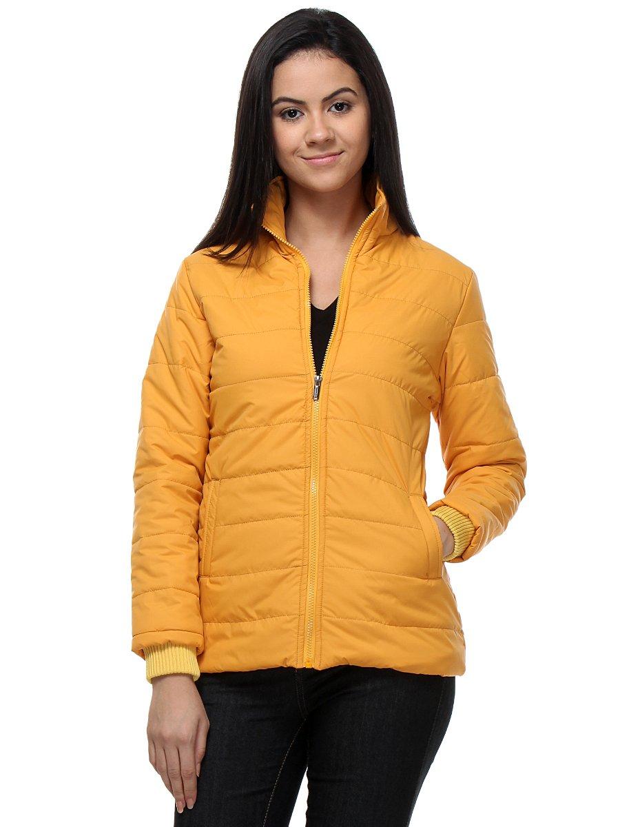 Kaxiaa Mustard Women Jacket