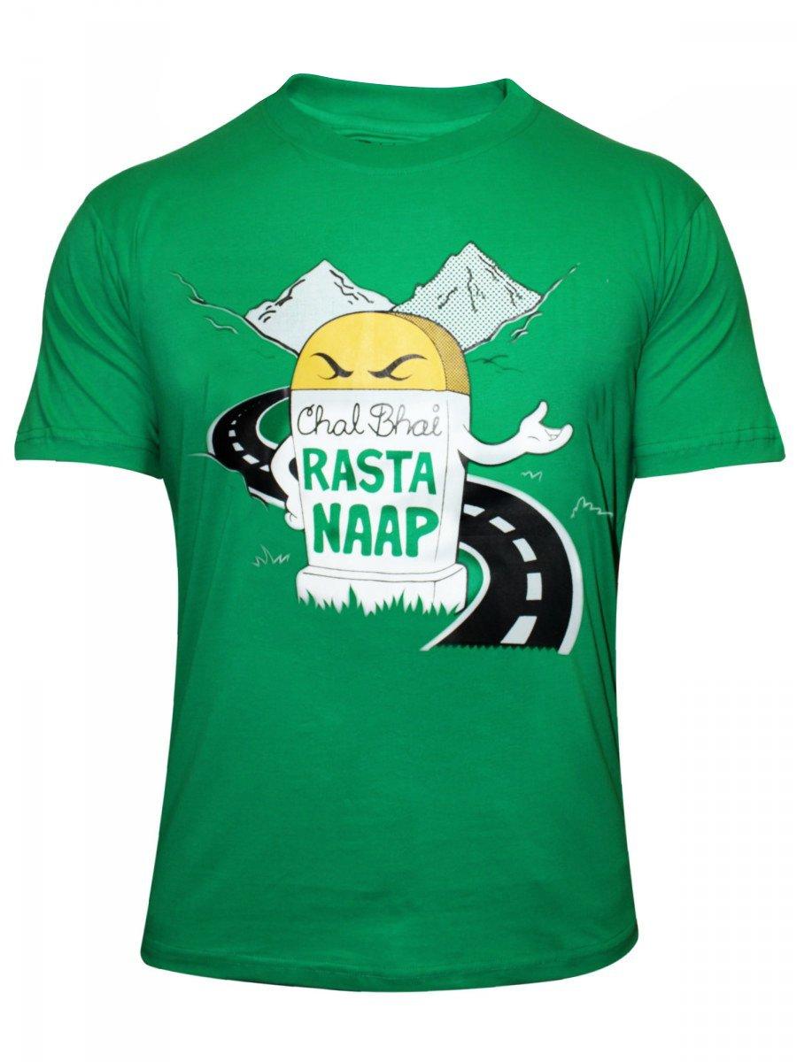 Buy t shirts online rasta naap round neck t shirt for Buy t shirts online