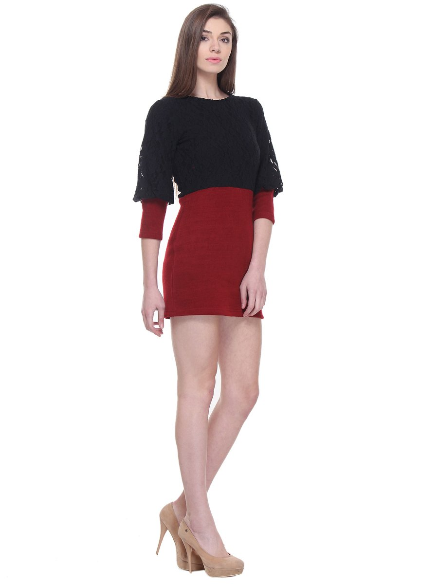 Red Dresses Select a Category ( C/MEO Breakthrough Black and Red Velvet Long Sleeve Tie-Front Dress $ Lulus Amour Wine Red Velvet High-Low Wrap Dress $61 Free People All Dolled Up Red Print Long Sleeve Mini Dress $98 + More. Lulus Romance Language Red Backless Lace Dress.