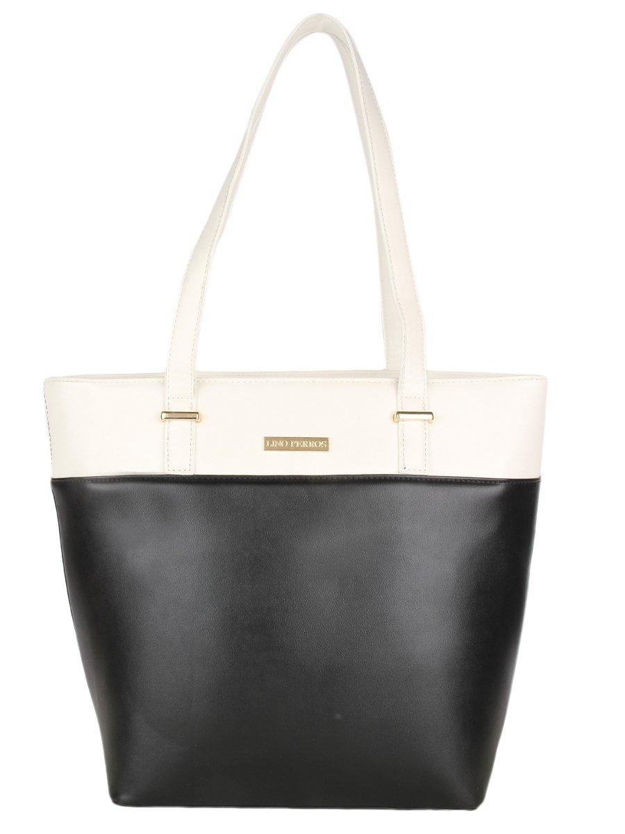 Lino Perros Black Color Hand Bag