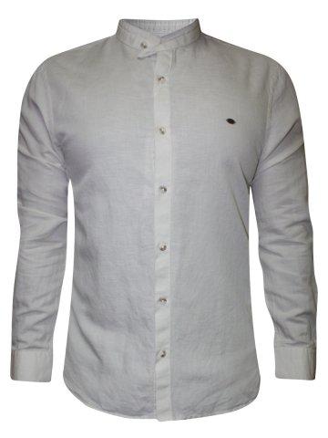 https://static8.cilory.com/189399-thickbox_default/peter-england-cream-casual-linen-shirt.jpg