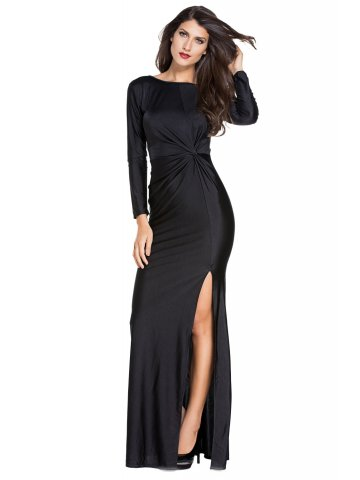https://static4.cilory.com/197385-thickbox_default/black-knotted-front-long-sleeves-gown.jpg