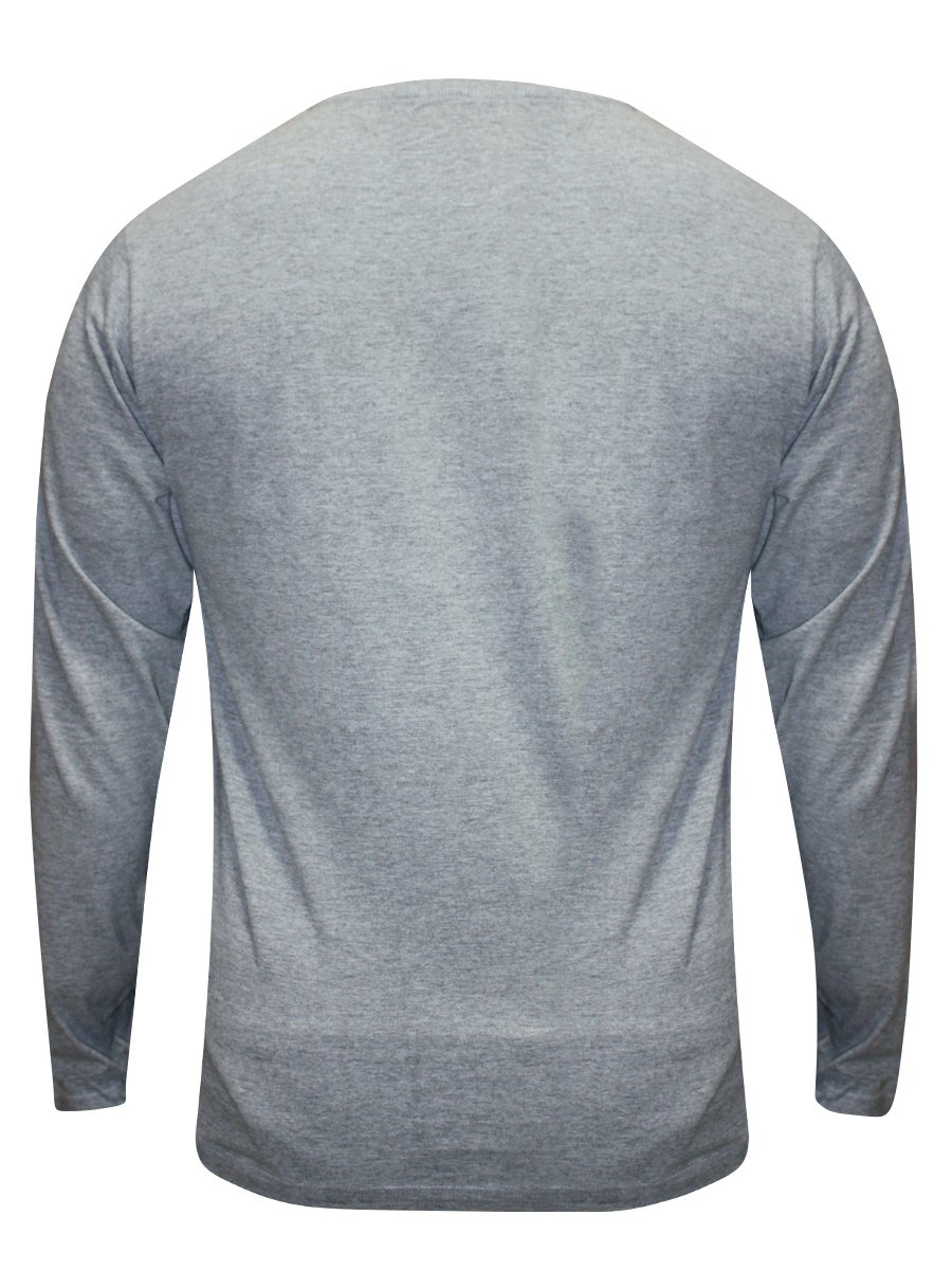 Pepe Jeans Grey Mellange Round Neck Full Sleeves T-shirt ...