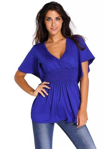 https://static9.cilory.com/205872-thickbox_default/blue-v-neck-short-batwing-sleeve-high-elastic-waist-blouse.jpg