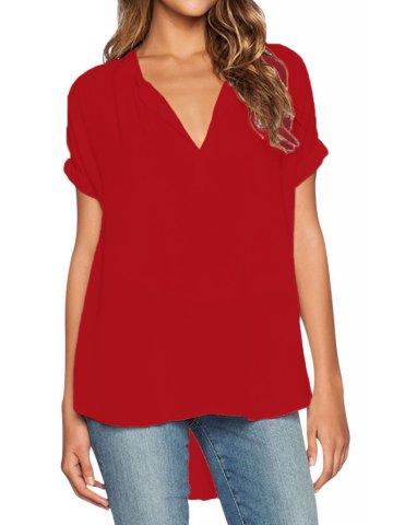 https://static5.cilory.com/207313-thickbox_default/red-v-neck-short-sleeve-oversize-blouse.jpg