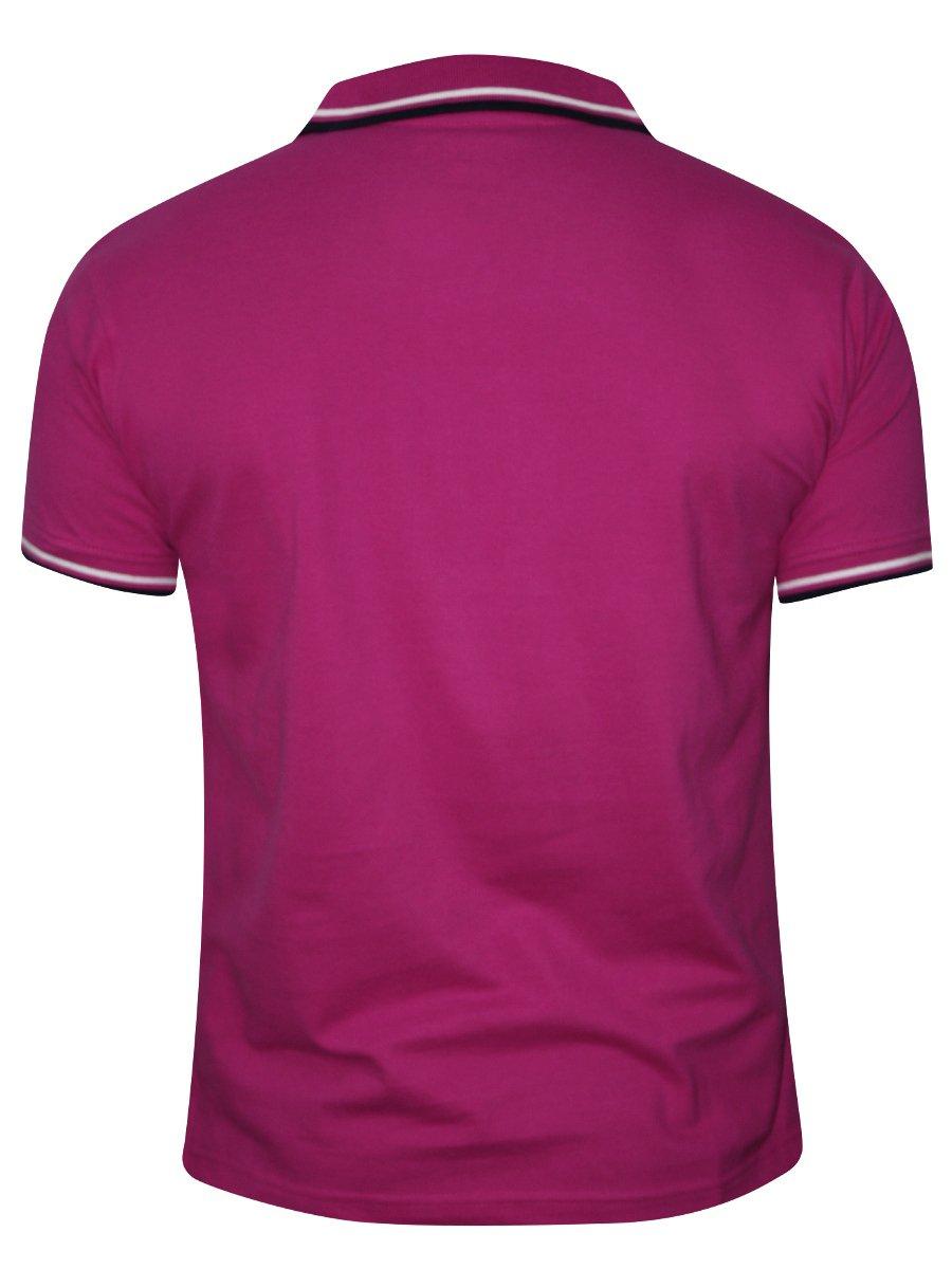 Buy T-shirts Online | Nologo Fuchsia Pink Polo Tee | Nologo-pt-102 ...
