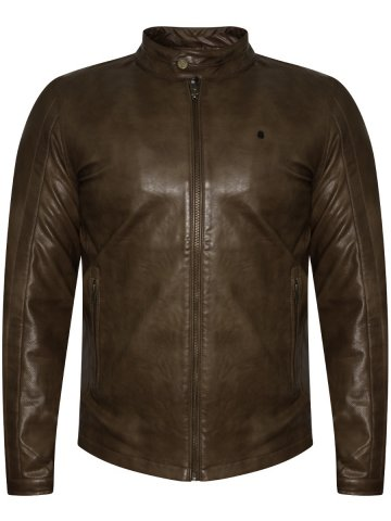 Spykar Tan Jacket at cilory