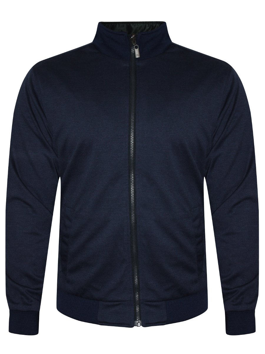 Peter England Green Amp Blue Reversible Jacket Ejk51605300