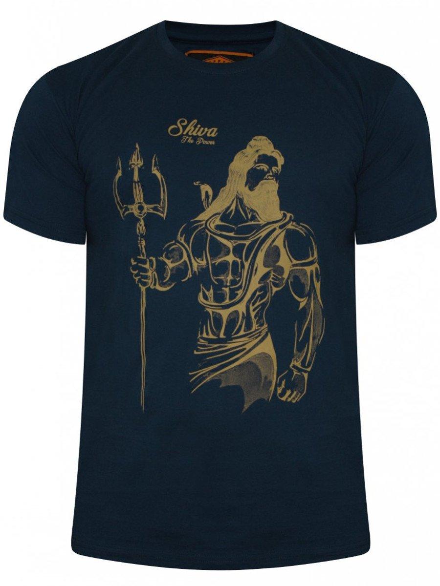 Buy T Shirts Online Shiva Navy T Shirt Bsts1160