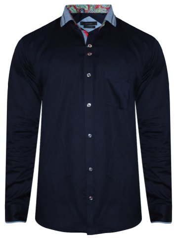 Alpha Male Navy Partywear Shirt at cilory