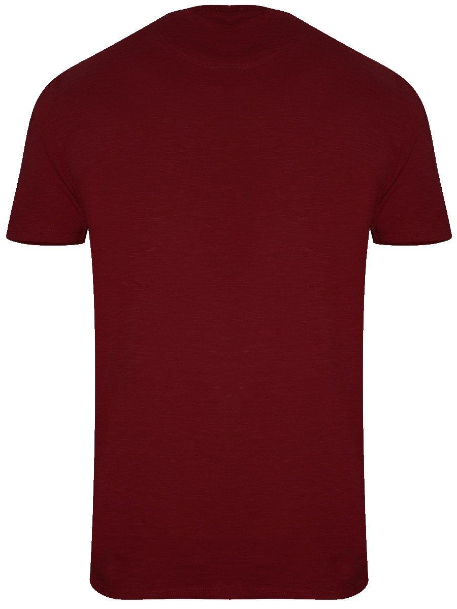 Buy t shirts online levis maroon round neck t shirt for Maroon t shirt for men