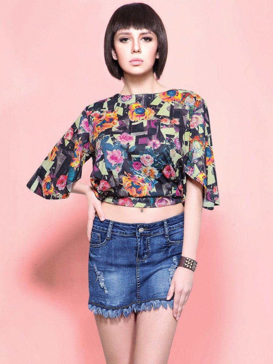 Finesse Multicolor Short Top