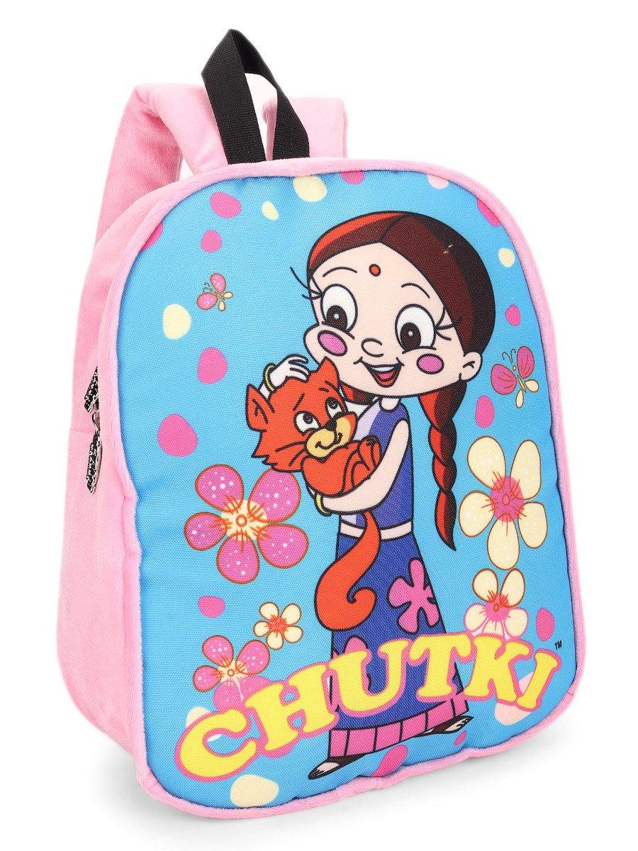 Chhota Bheem Plush School Bag