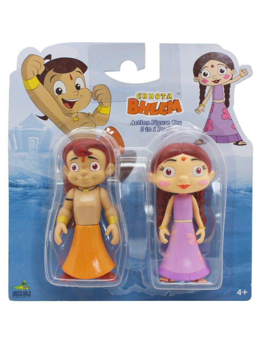 2 In 1 Chhota Bheem   Chutki Action Figure Toy