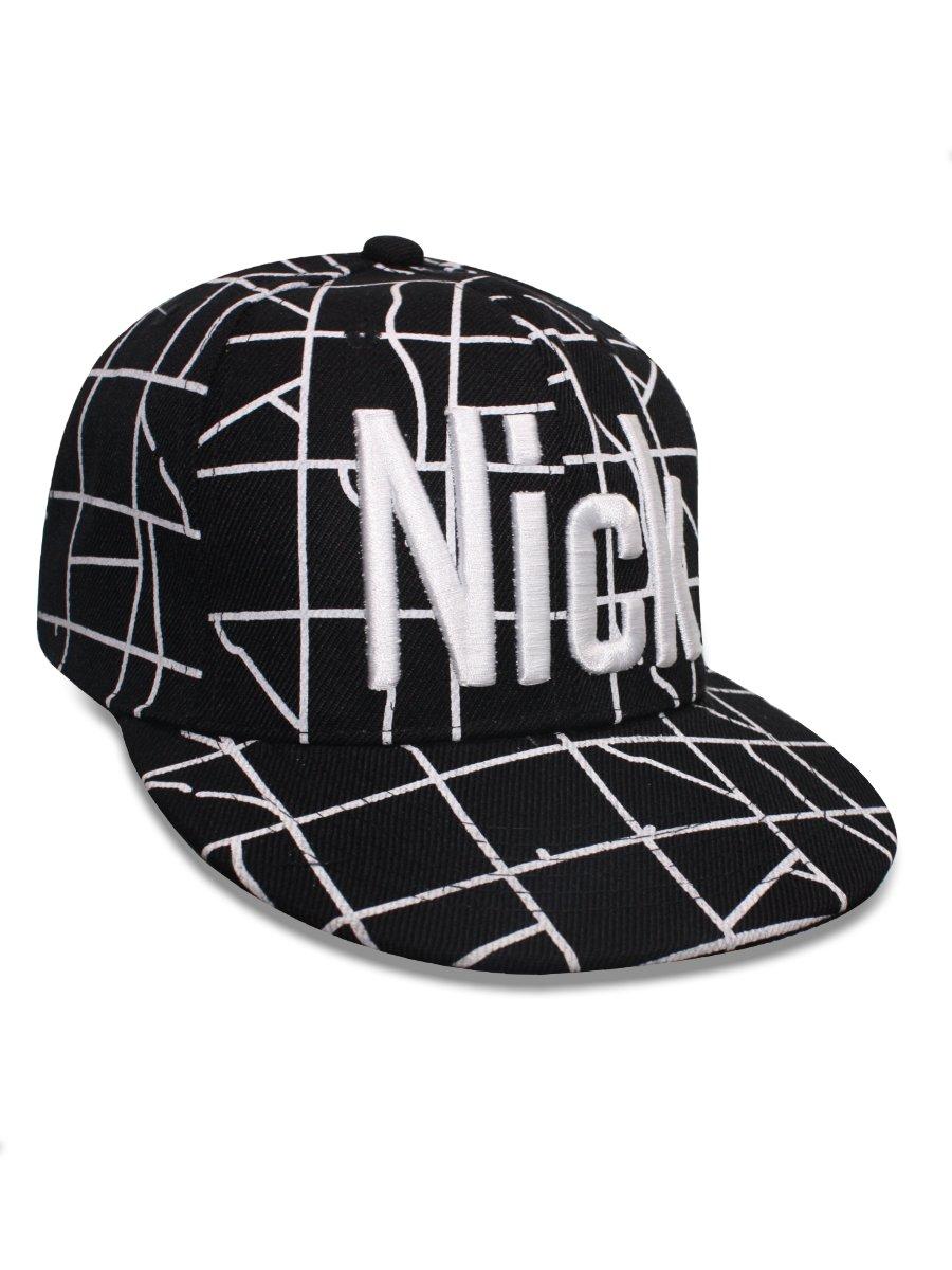 NoLogo Black Snapback Cap