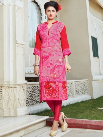 https://static7.cilory.com/269887-thickbox_default/saanj-pink-red-cotton-kurti.jpg