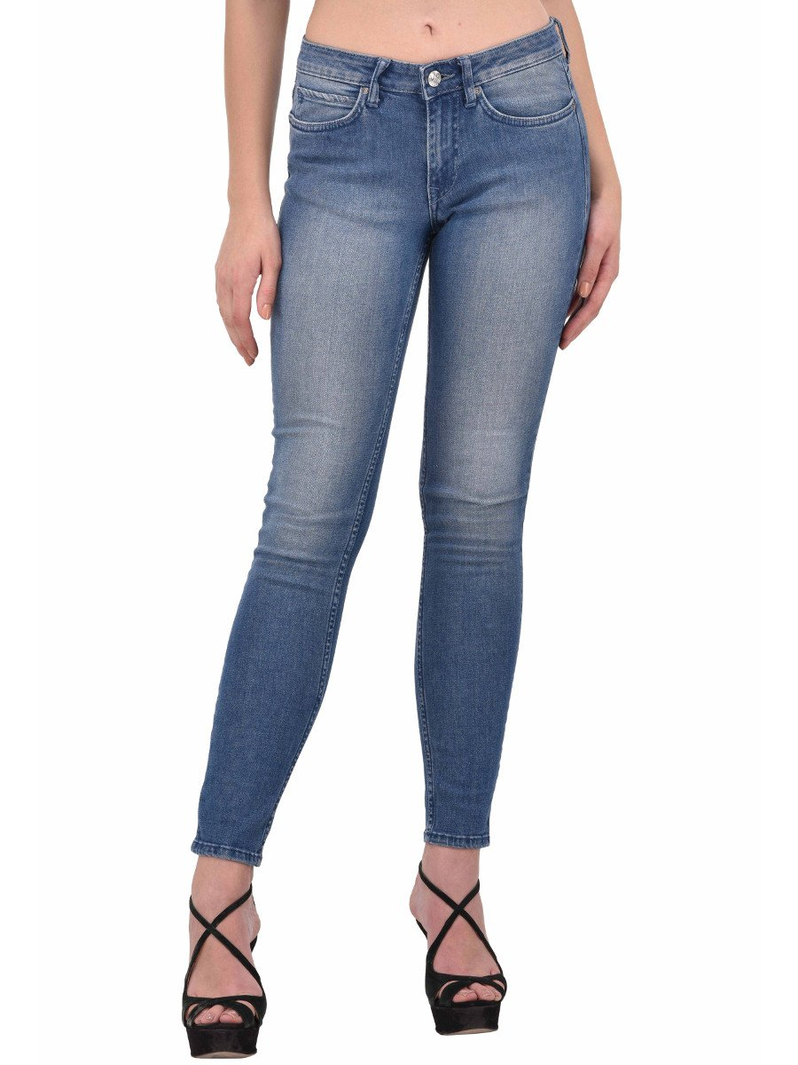 Lee Blue Slim Stretch Women Jeans