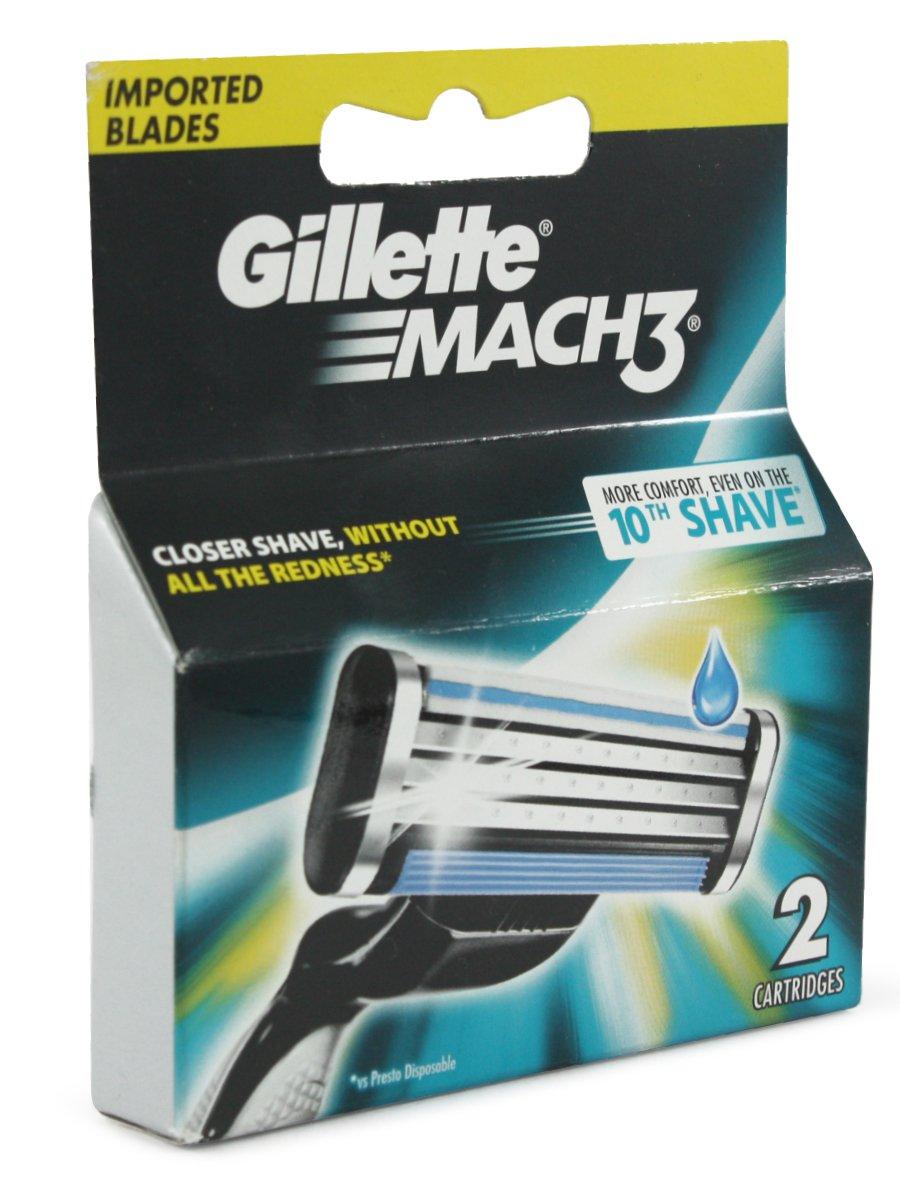 Gillette Mach3 Blades 2 Cartridges