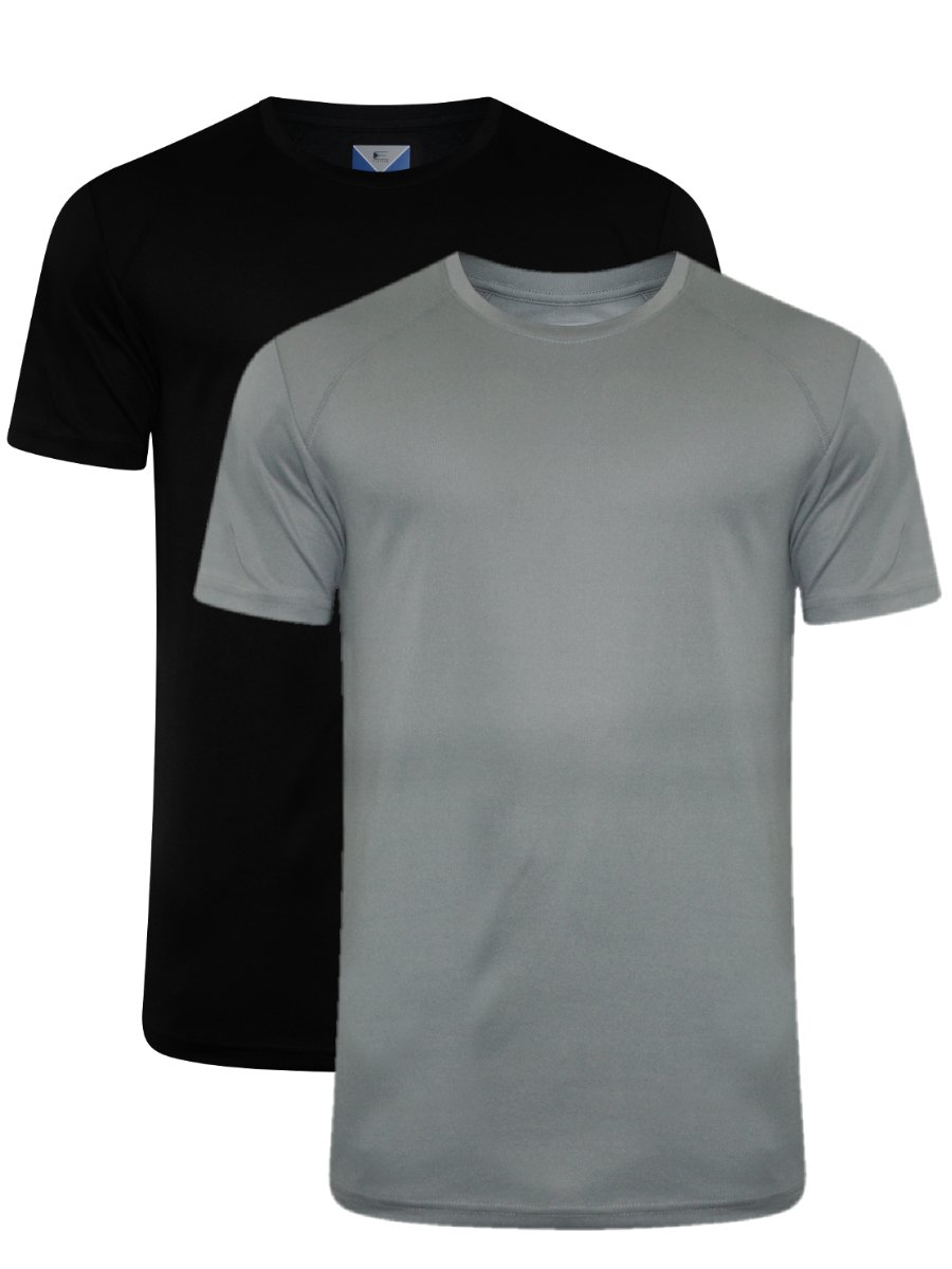 Peter England Round Neck Sports T Shirt  Pack of 2