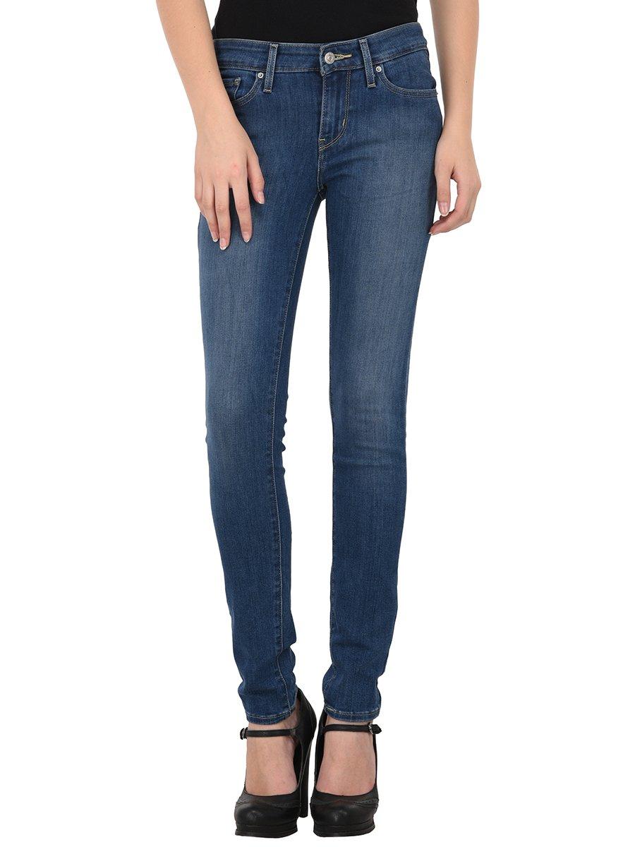 Levis 711 Blue Skinny Women Stretch Jeans