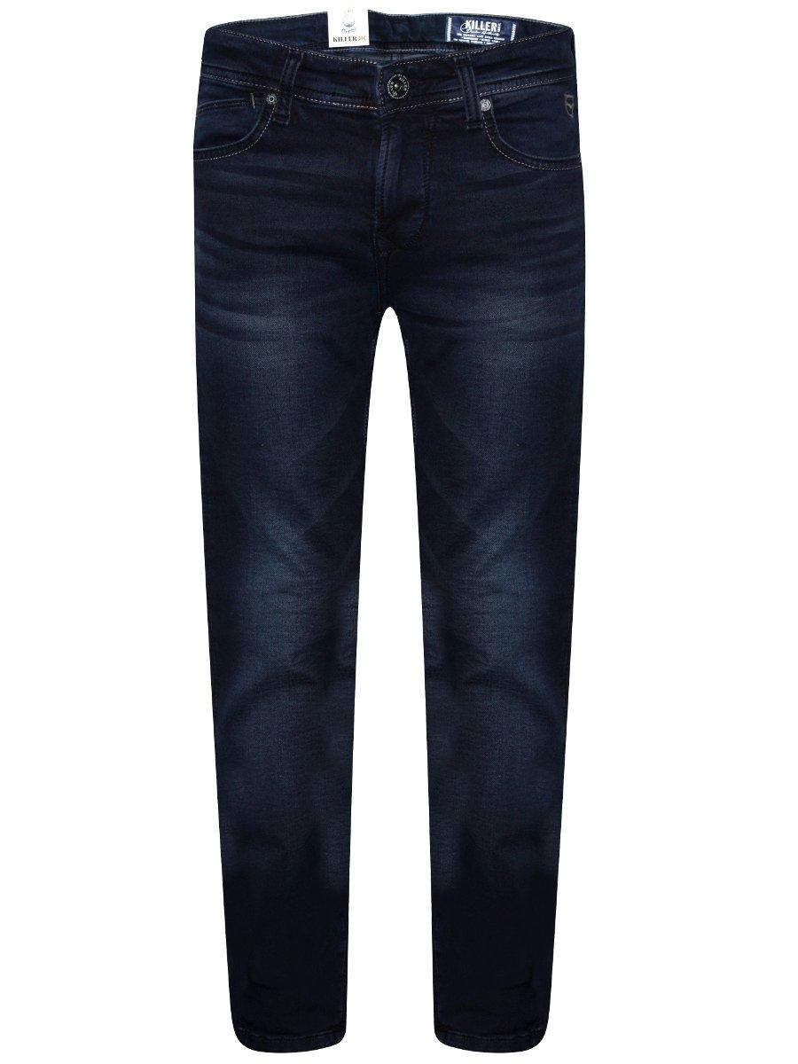 Killer Dark Blue Regular Slim Stretch Jeans
