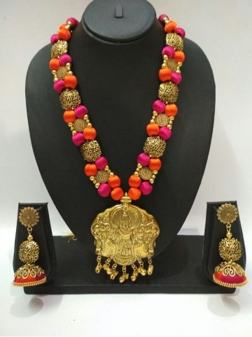black dori simple thread jewellery necklace latest category designs jewelry