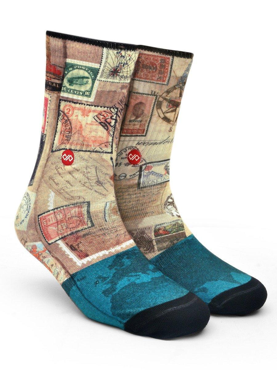 Dynamocks Voyager Unisex Crew Length Socks