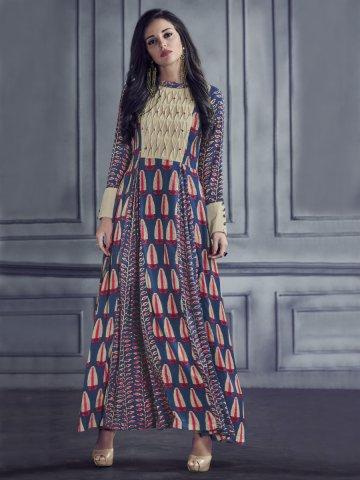 b2f8a1de82 Sabhyata Multicolor Rayon Cotton Printed Kurti | Arihantnx-8002 ...