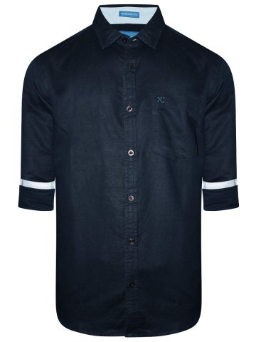 https://static7.cilory.com/348788-thickbox_default/numero-uno-navy-casual-linen-shirt.jpg