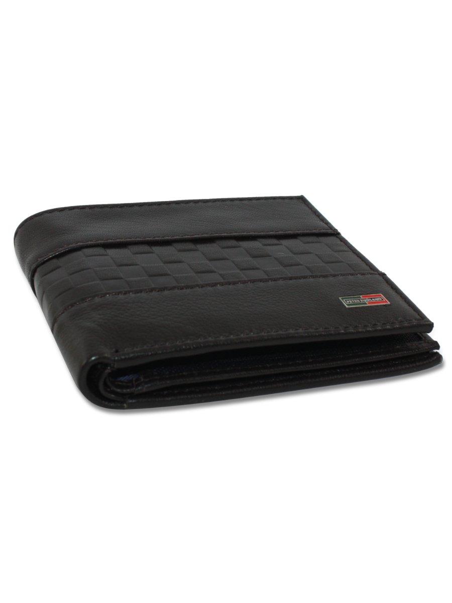 Peter England Brown Men's Leather Wallet
