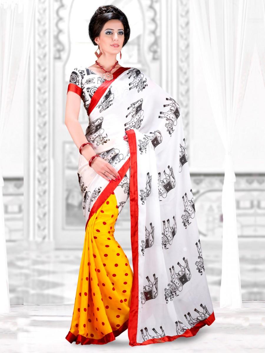 Designer Saree With Blouse