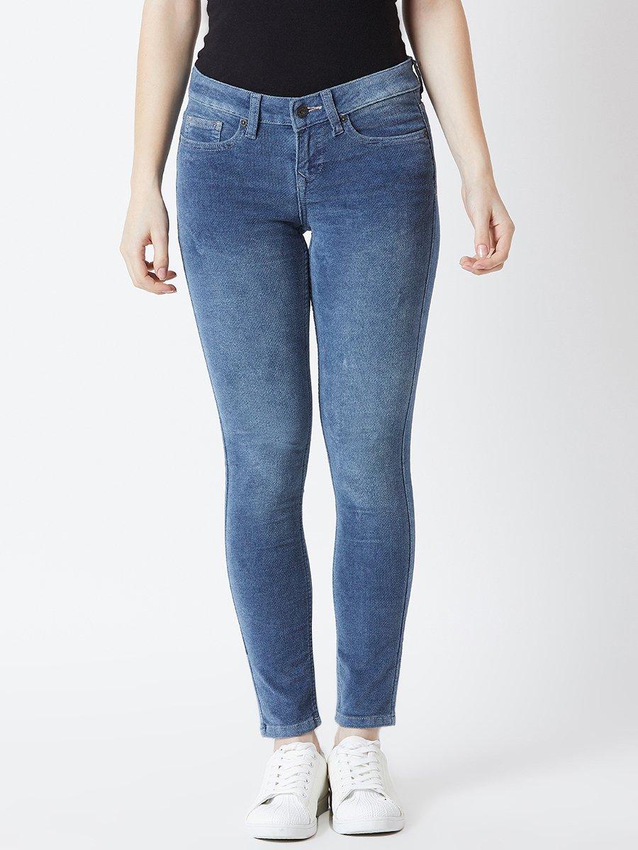Pepe Jeans Jess Blue Skinny Fit Jeggings