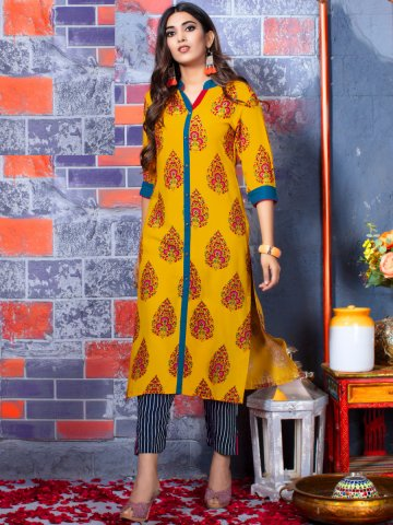 https://static7.cilory.com/369360-thickbox_default/fashion-yellow-kurti-with-navy-blue-bottom.jpg