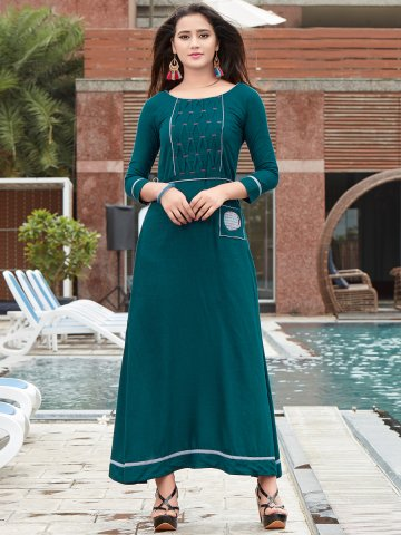 https://static5.cilory.com/370768-thickbox_default/stella-dark-green-solid-kurti-with-belt.jpg