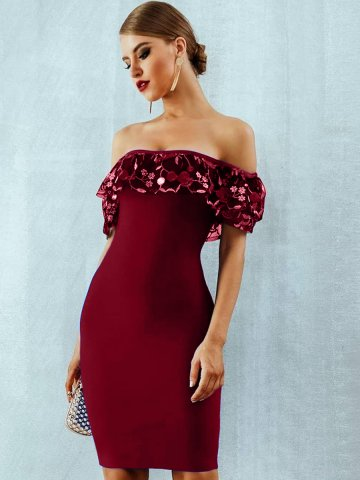 https://static.cilory.com/374415-thickbox_default/off-shoulder-party-dress-with-lace-detailing.jpg