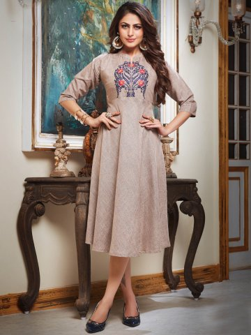 https://static.cilory.com/383505-thickbox_default/earthy-brown-embroidered-kurti.jpg