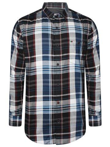 https://static.cilory.com/384256-thickbox_default/peter-england-pure-cotton-black-checks-shirt.jpg