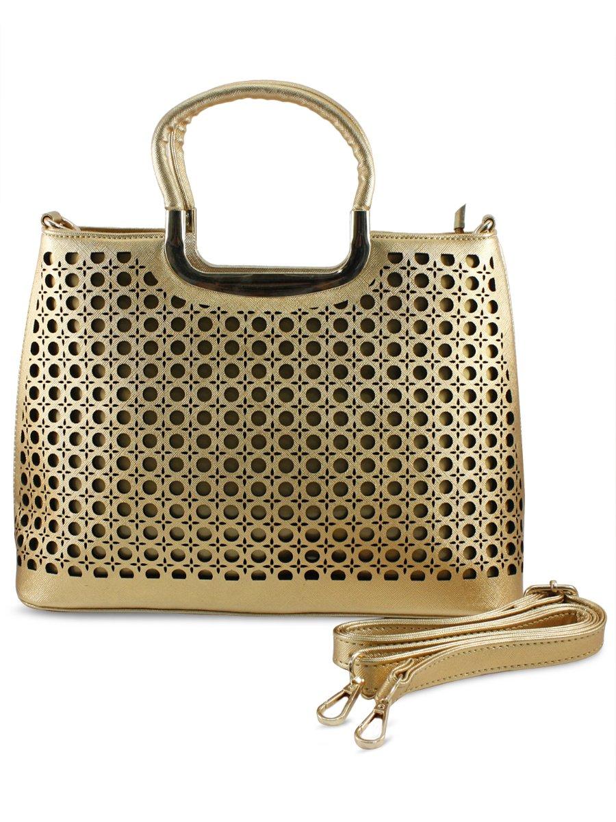 Estonished Golden Handheld Bag