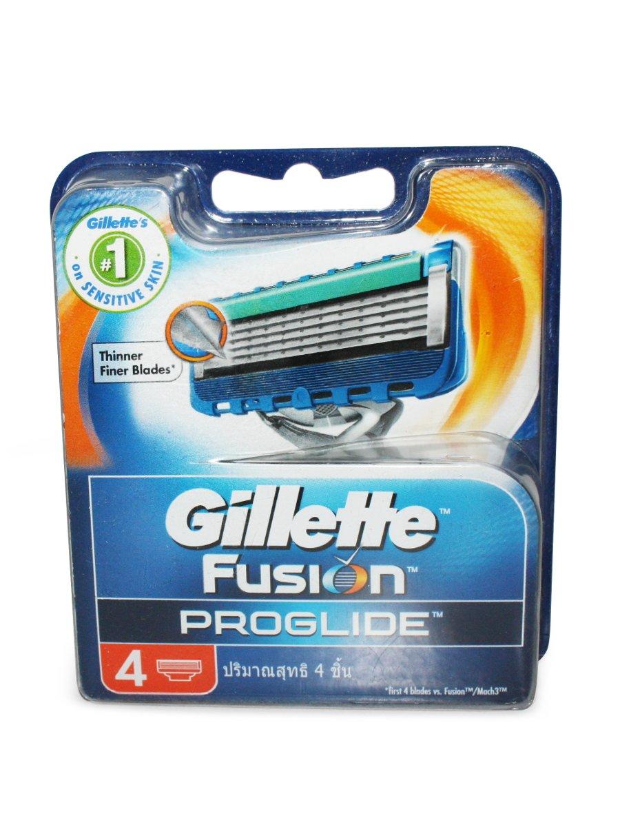 Gillette Fusion Proglide Cartridges 4's
