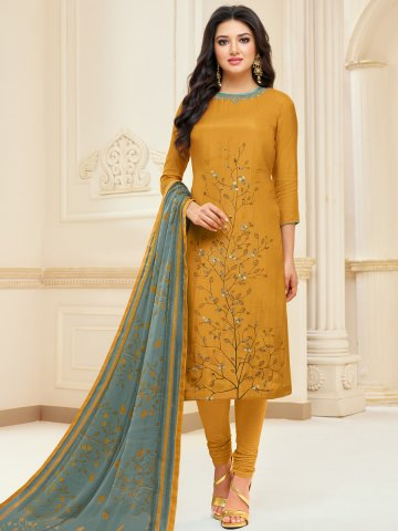 https://d38jde2cfwaolo.cloudfront.net/391881-thickbox_default/mustard-cotton-semi-stitched-printed-suit.jpg