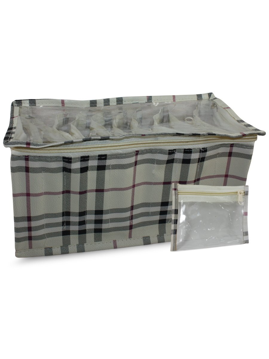 Estonished Cream Vanity Bag   Pack of 9